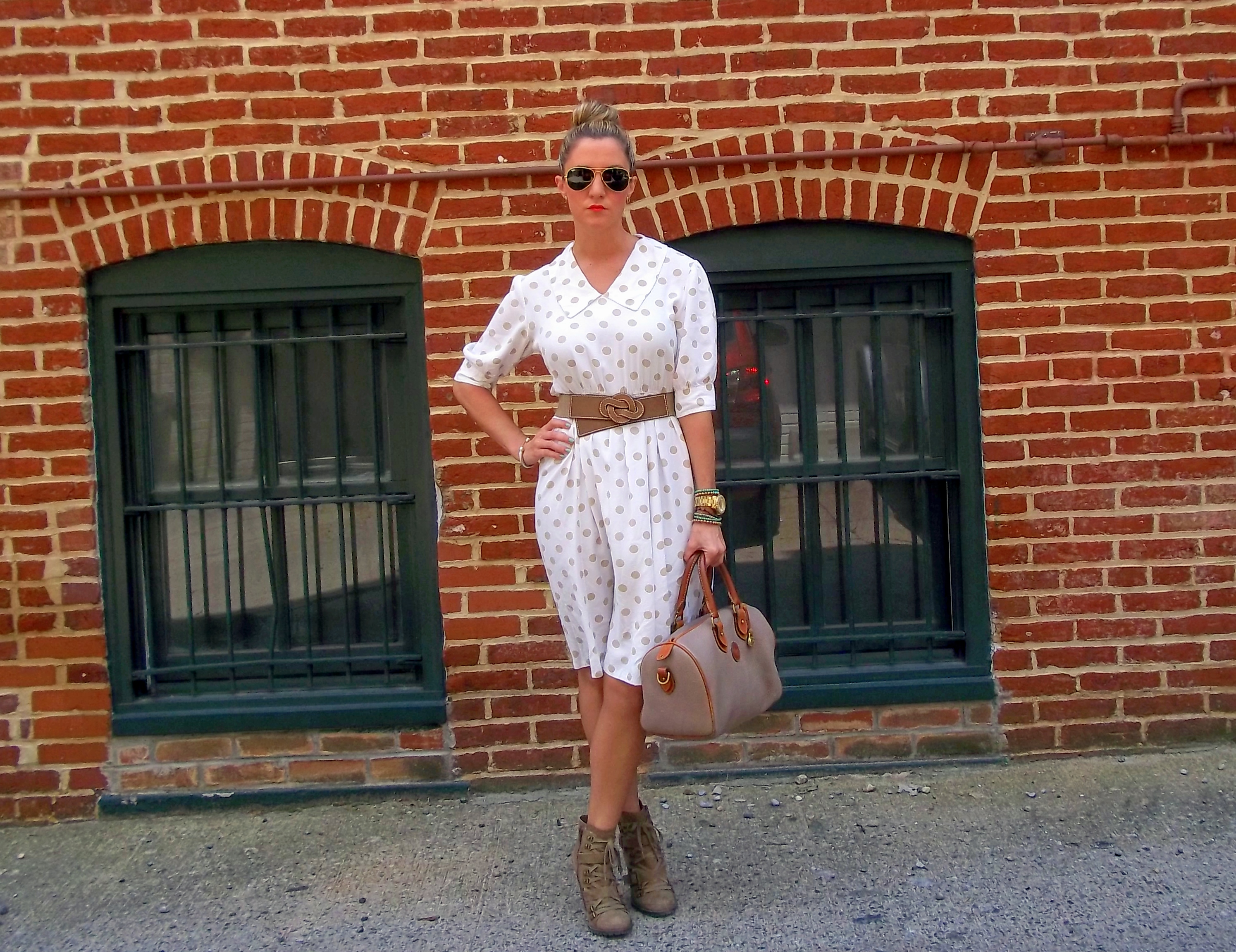 c5a46531ec10 Lacey s Wearing  Polka Dots - A Lacey Perspective DC Fashion Blog